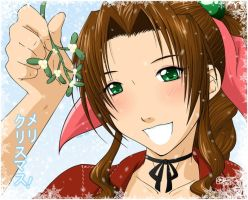 :Secret Santa: - Aeris by tigerangel