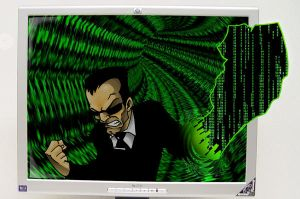 matrix agent smith by Dreekzilla