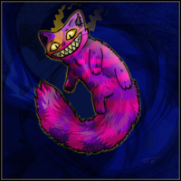 Cheshire Cat by Sanaqua