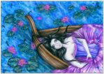 Lady of Shalott (scan) by Yawannka