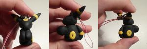 Umbreon Jizo Charm by ChibiSilverWings