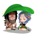 Gajeel x Levy ~ Leafy shade by PastrieCake