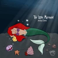 Sleeping Ariel by SupesSoups
