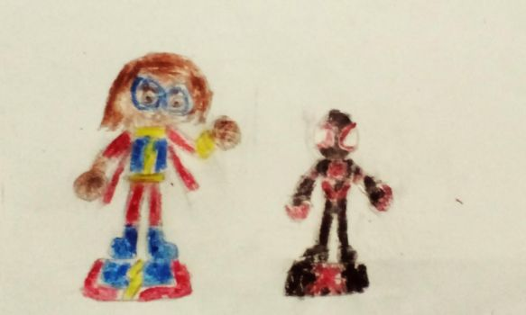 Disney Infinity Idea: Kamala and Miles by EmmoniCrash