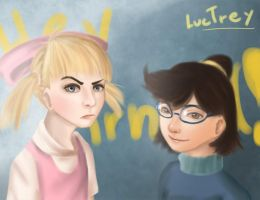 Helga and Phoebe by LucTrey