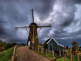 Road to the windmill by pagan-live-style