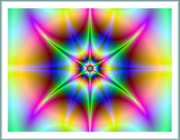 Psychedelic Square by Lynne-Abley-Burton