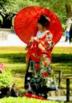 Lady with Kimono and Parasol by AndySerrano