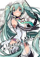 RACING MIKU 2013 !! by U35