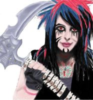 Dahvie by Charlotte--Art