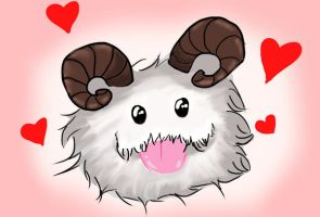 Poro [League of Legends] by ArtofAviya