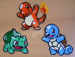 Pokemon sprite bead 4 by Chiki012
