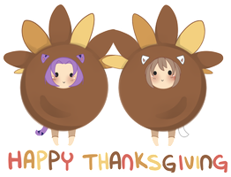 Gobble Gobble by WanNyan