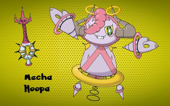 Mecha-Hoopa by Carlito89