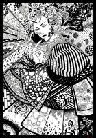 Queen of pattern by Nad-PaperTiger
