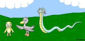 Watch the snake by Maleiva