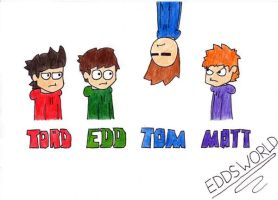 Edd, Matt, Tom and Tord: EW by HeatGrade77