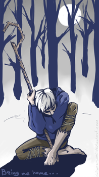 Bring me home. Jack Frost [RotG] by the-ALEF