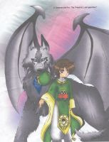 Syaoran + Guardian by SilentReaper