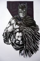 Batman in the shadows by PM-Graphix