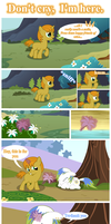 Don't cry, I'm here. by DreamWayPony