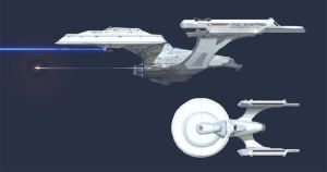 Redesign: Kirk's Enterprise by MK01