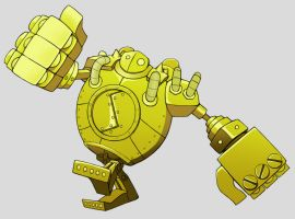 Blitzcrank by Kuroonehalf