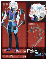 PokeGlitch Raiden by horyuu