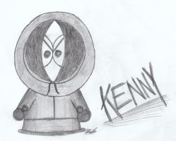 Kenny McCormick by WolfyWardark