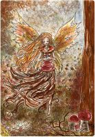 Autumn fairy by pearleyed