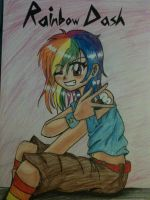 Rainbow Dashie :3 by Mangaka4eva