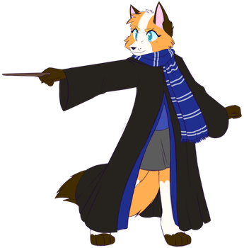 You're a Wizard -Commish- by Spottedfire-cat