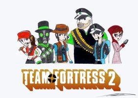 My TF2 Team by AZ-Derped-Unicorn