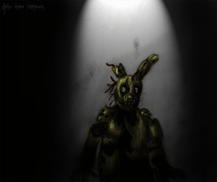 We have a place for Him. (Spring-trap FNAF3) by Akira-Keine-Hoffnung