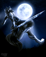 Moon Warrior by CALLYKITTY