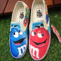 MnMs MM Custom Vans by VeryBadThing