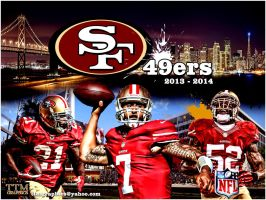 San Francisco 49ers Poster by tmarried