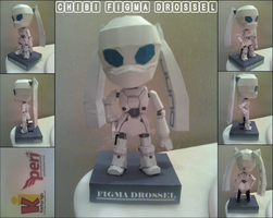 Chibi Figma Drossel Papercraft Finished by rubenimus21