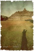 me, myself, and Borobudur by semangatmembara