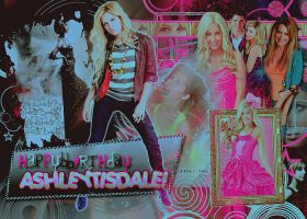 Feliz Cumple Ashley Tisdale by MyDesireForAT