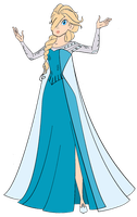 Rosalina the Snow Queen by darthraner83
