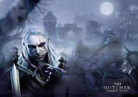 The Witcher Wallpaper by recluzer