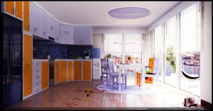 Kitchen Design2 by nettonik