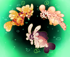 (CLOSED) Sea Bunnies by The-Monster-Shop