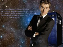 Doctor Who Wall 1024x768 by ImyAnt