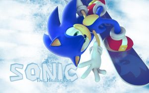 Sonic Wallpaper 4 - 1280x800 by NoNamepje