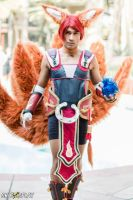 Foxfire Ahri (rule 63) A - ALA 2015 by DISC-Photography