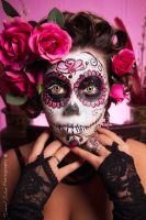 Star Sugar Skull Shoot 9 by Daniel-Mcleod