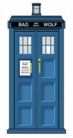 BAD WOLF TARDIS by Carthoris