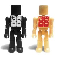 Exclusive Blank Minimates by luke314pi